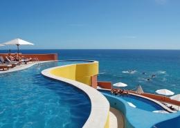 resort by ocean