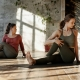 Women practicing mindfulness to improve their mental and physical health
