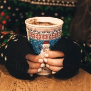 Woman feeling stress, anxiety, and depression during the holidays