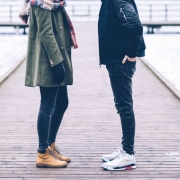 Couple facing issues and considering relationship and marriage counseling